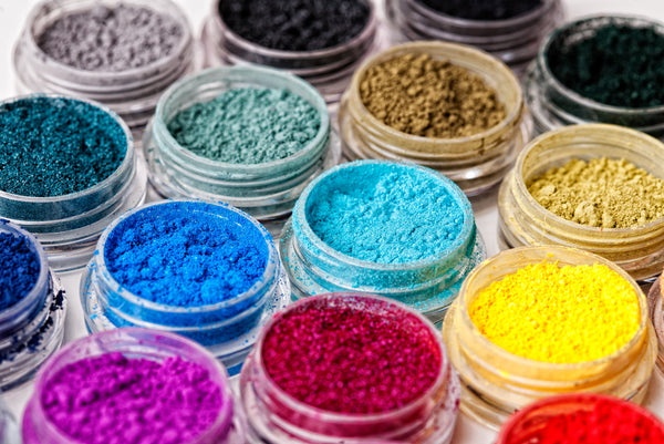 The Many Shades of Mineral Pigments