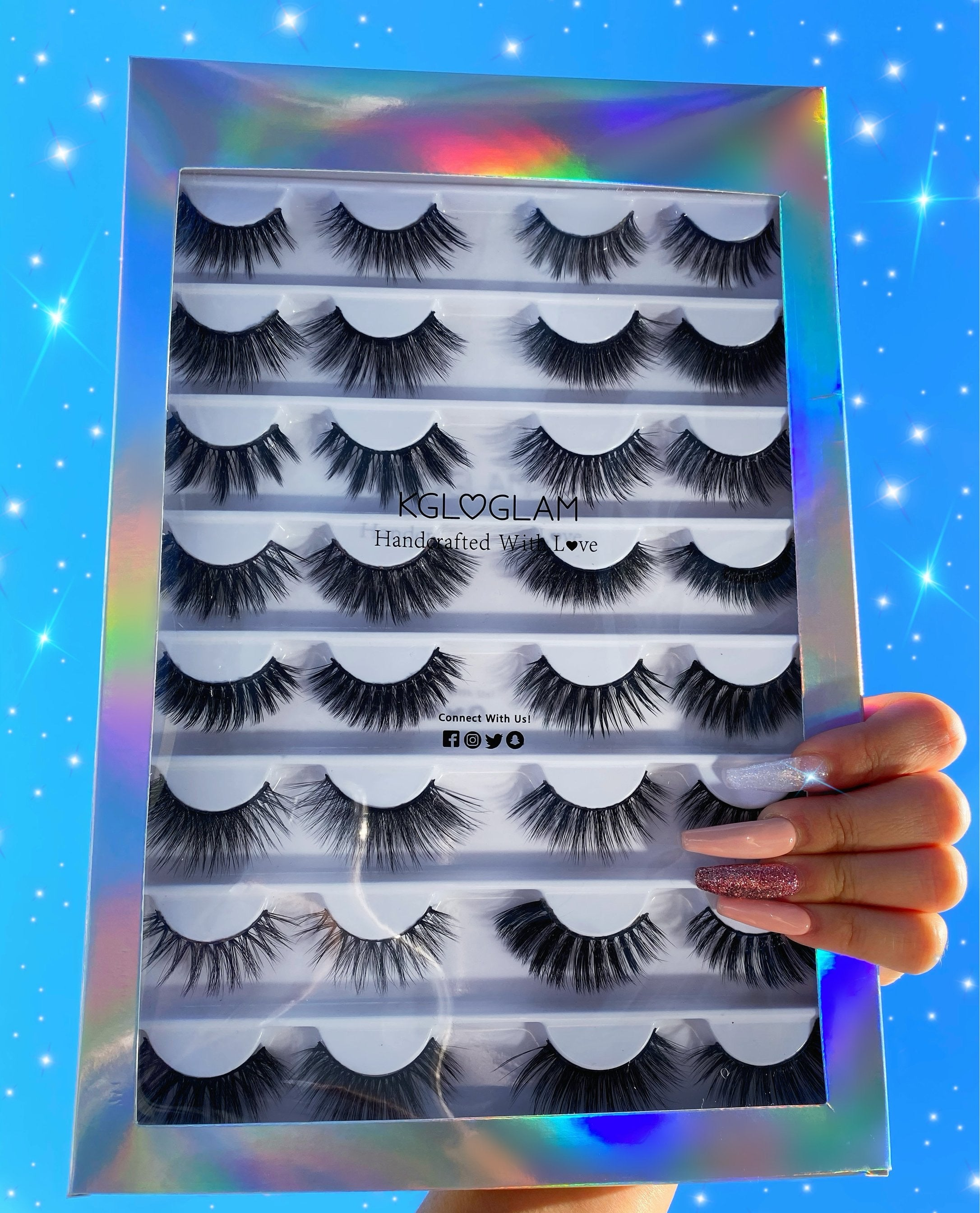 Empty Lash Collection Book