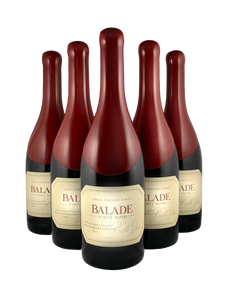 6 BOTTLES BELLE GLOS BALADE PINOT NOIR  SANTA MARIA VALLEY 2016 750ML