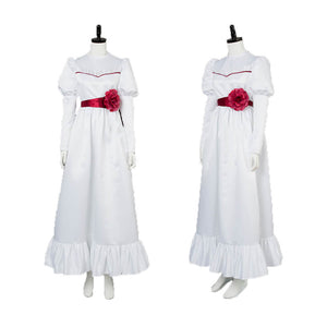 Adult Annabelle Cosplay Costume Halloween Outfit OTKS016 - otakumadness