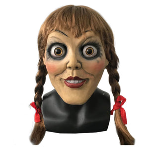 Annabelle Mask Halloween Cosplay Costume OTKS018 - otakumadness