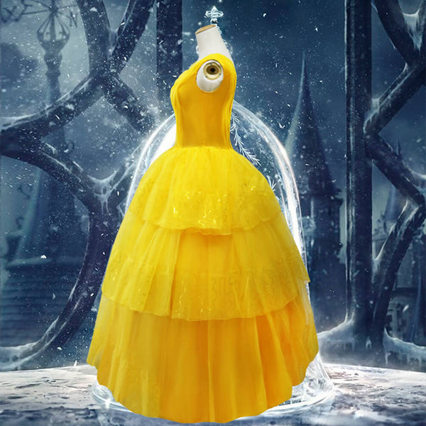 Beauty and The Beast Belle Cosplay Costume Halloween Outfit OTKS021 - otakumadness