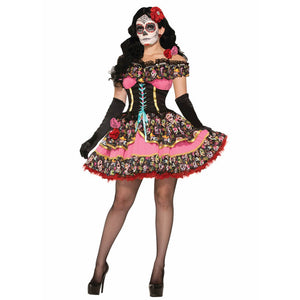 Day Of Dead Skeleton Costume - otakumadness