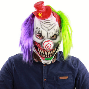 Halloween Horror Clown Mask - otakumadness