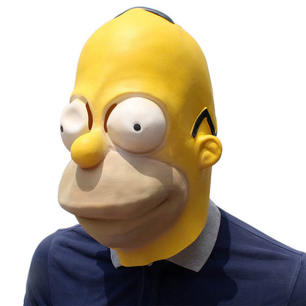 Halloween Simpson Latex Mask - otakumadness