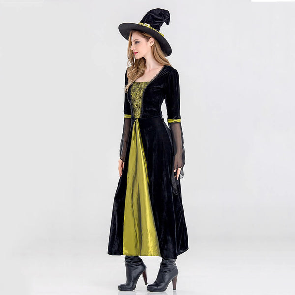 Halloween Witch Cosplay Costume - otakumadness