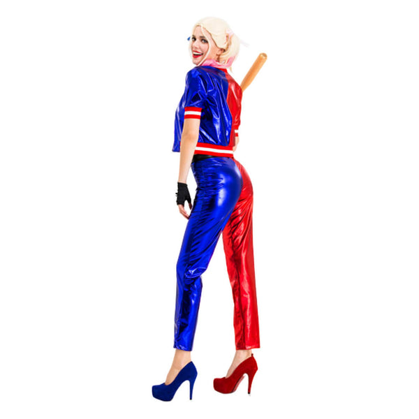Suicide Squad Harley Quinn Cosplay Costume Halloween Outfit OTKS033 - otakumadness