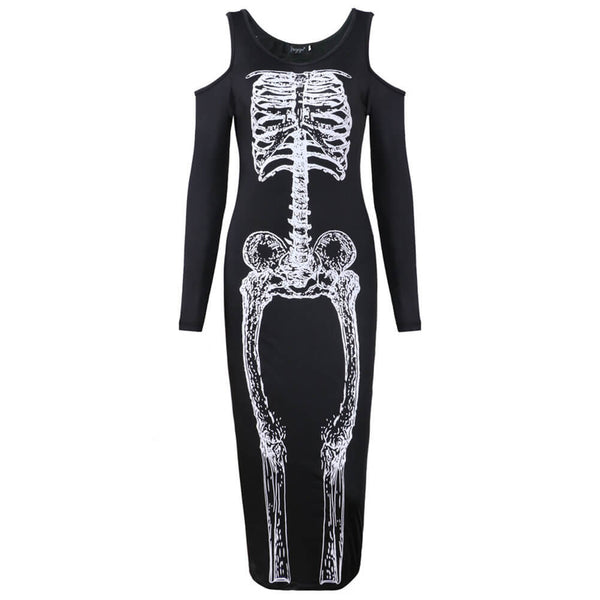 Halloween Horror Skeleton Costume - otakumadness