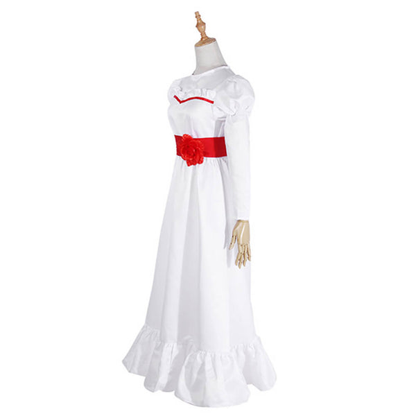 Kids Annabelle Cosplay Costume Halloween Outfit OTKS017 - otakumadness