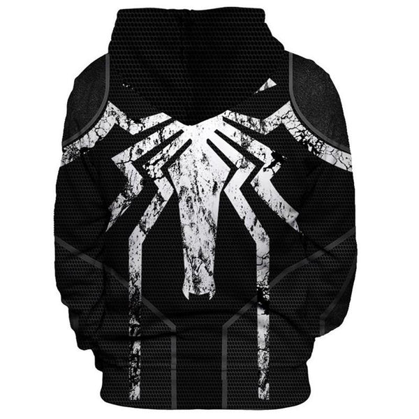 The Avengers Hoodies - Spider Man Pullover Hoodie OTA00B - otakumadness