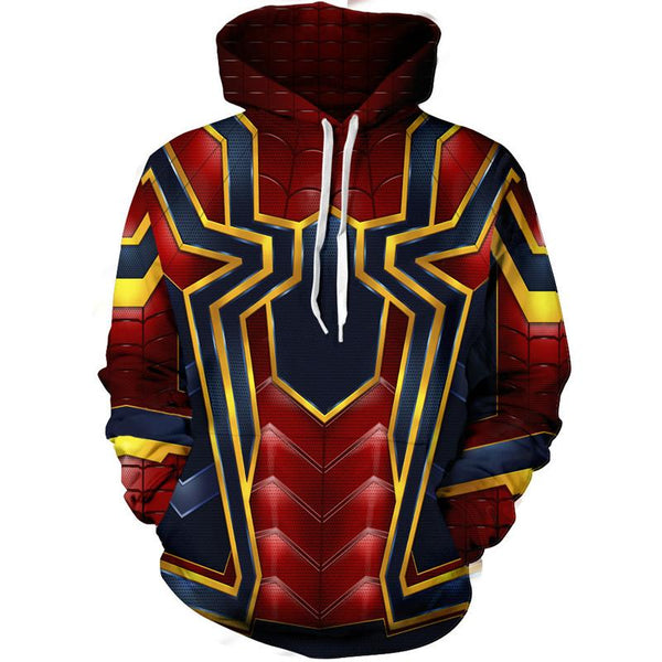 The Avengers Hoodies - Spider Man Pullover Hoodie OTA00J - otakumadness