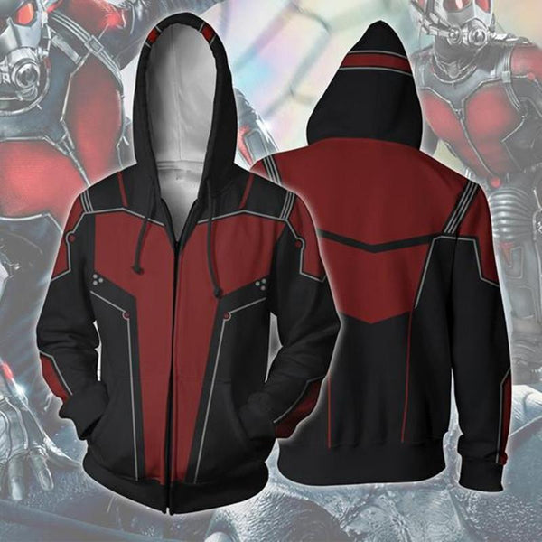 The Avengers Hoodies - Ant-Man Zip Up Hoodie OTA00Q - otakumadness