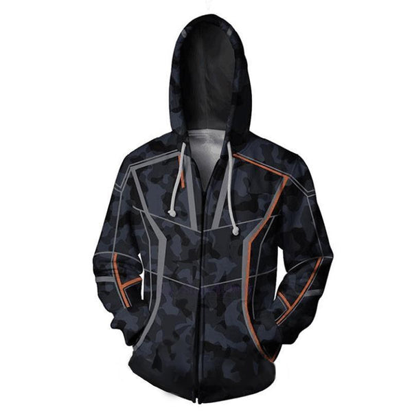 Avengers Hoodies - Infinity War Tony Stark Zip Up Hoodie OTA00V - otakumadness