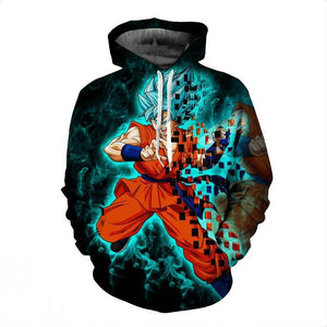Dragon Ball Hoodies - Goku Pullover Hoodie OTA024 - otakumadness