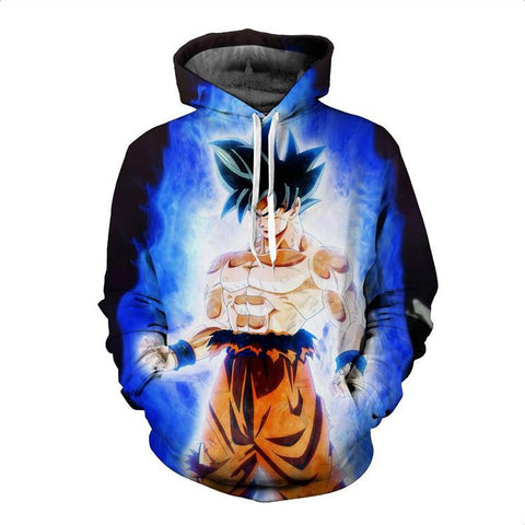 Dragon Ball Hoodies - Limit Breaker Goku Pullover Hoodie OTA029 - otakumadness