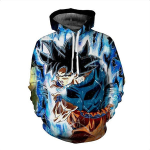 Dragon Ball Hoodies - Super Goku Pullover Hoodie OTA034 - otakumadness
