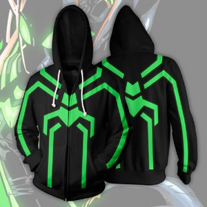 Avengers Hoodies - Spider Man Zip Up Hoodie OTA152 - otakumadness
