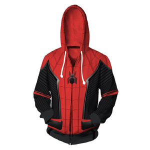 Avengers Hoodies - Homecoming Spider-Man Zip Up Hoodie OTA177 - otakumadness