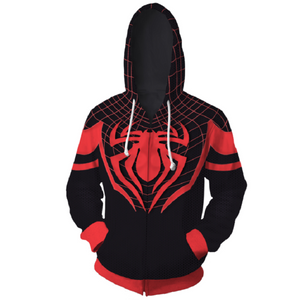 Avengers Hoodies - Spider-Man Zip Up Hoodie OTA178 - otakumadness