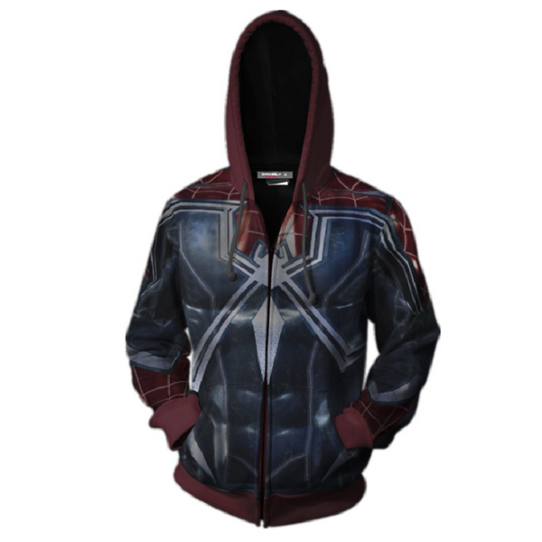 Avengers Hoodies - Spider-Man Zip Up Hoodie OTA191 - otakumadness