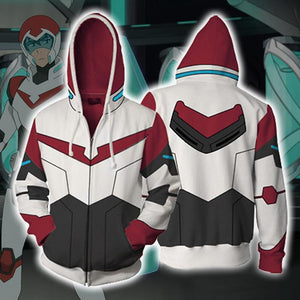 Voltron Hoodies - Legendary Defender Paladin Keith Zip Up Hoodie OTA044 - otakumadness