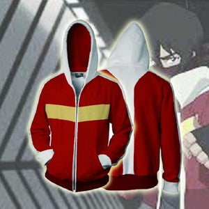 Voltron Hoodies - Legendary Defender Keith Zip Up Hoodie OTA560 - otakumadness
