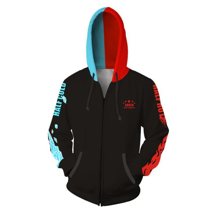 My Hero Academia Hoodies - Zip Up Hoodie OTA599 - otakumadness
