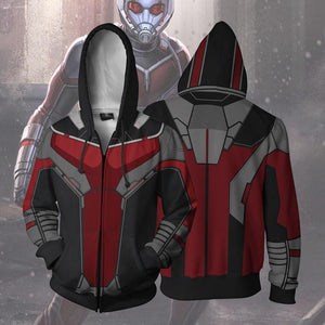 Avengers Hoodies - Ant-Man Zip Up Hoodie OTA635 - otakumadness