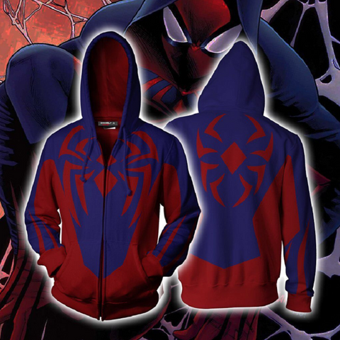 Avengers Spider-Man Hoodies - Zip Up Hoodie OTA810 - otakumadness