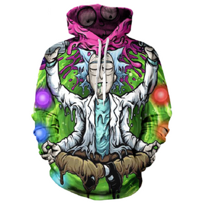 Rick and Morty Pullover Hoodie OTA867 - otakumadness