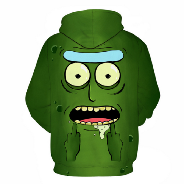 Rick and Morty Pullover Hoodie OTA871 - otakumadness
