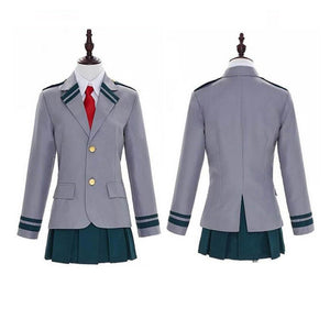My Hero Academia Girls School Uniform Cosplay Costume Halloween Outfit OTKS111 - otakumadness