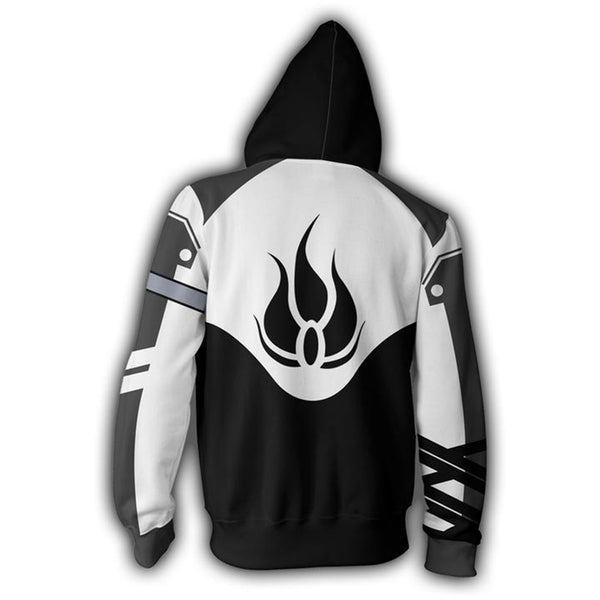 RWBY Anime Cosplay Costume Sweatshirt Zip Up Hoodie OTKS001 - otakumadness