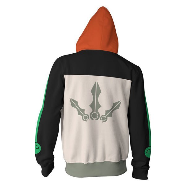 RWBY Anime Cosplay Costume Sweatshirt Zip Up Hoodie OTKS002 - otakumadness