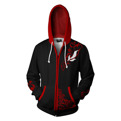 RWBY Anime Cosplay Costume Sweatshirt Zip Up Hoodie OTKS005 - otakumadness