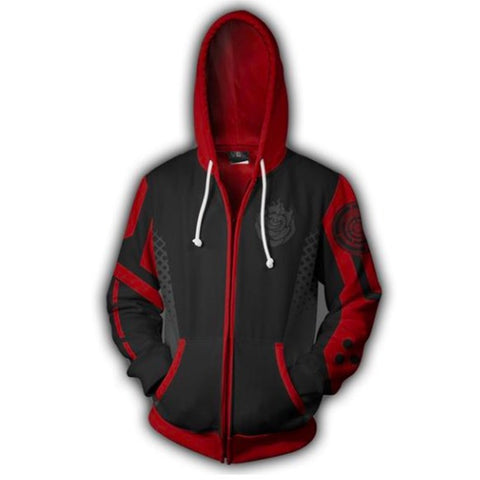 RWBY Anime Cosplay Costume Sweatshirt Zip Up Hoodie OTKS007 - otakumadness