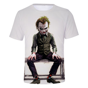 DC Batman The Joker 3D Print Graphic T-Shirt OTKS900 - otakumadness