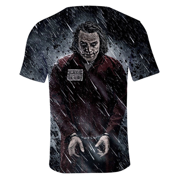 DC Batman The Joker 3D Print Dark Graphic T-Shirt OTKS901 - otakumadness