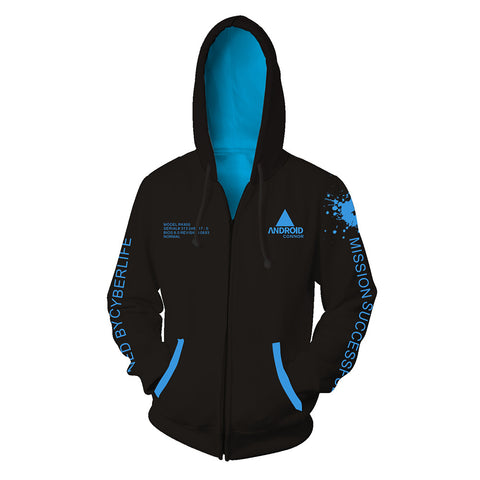 Detroit Become Human Hooide Jacket - otakumadness