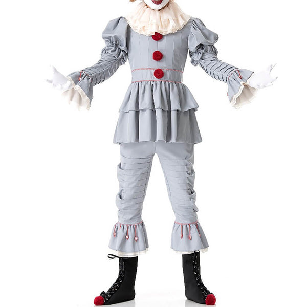 Pennywise The Clown Cosplay Costume Halloween Outfit OTKS011 - otakumadness