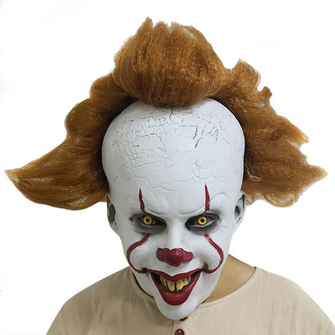 Pennywise Latex Head Mask - otakumadness
