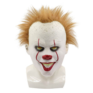 Pennywise It The Clown Mask Halloween Cosplay Costume OTKS012 - otakumadness