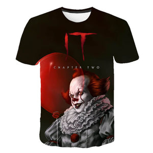 Pennywise Clown 3D Print Graphic T-Shirt OTKS301 - otakumadness