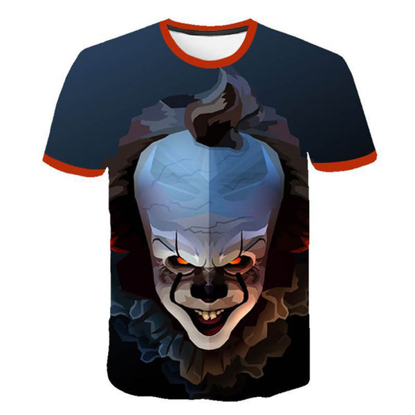 Pennywise Clown 3D Print Graphic T-Shirt OTKS302 - otakumadness