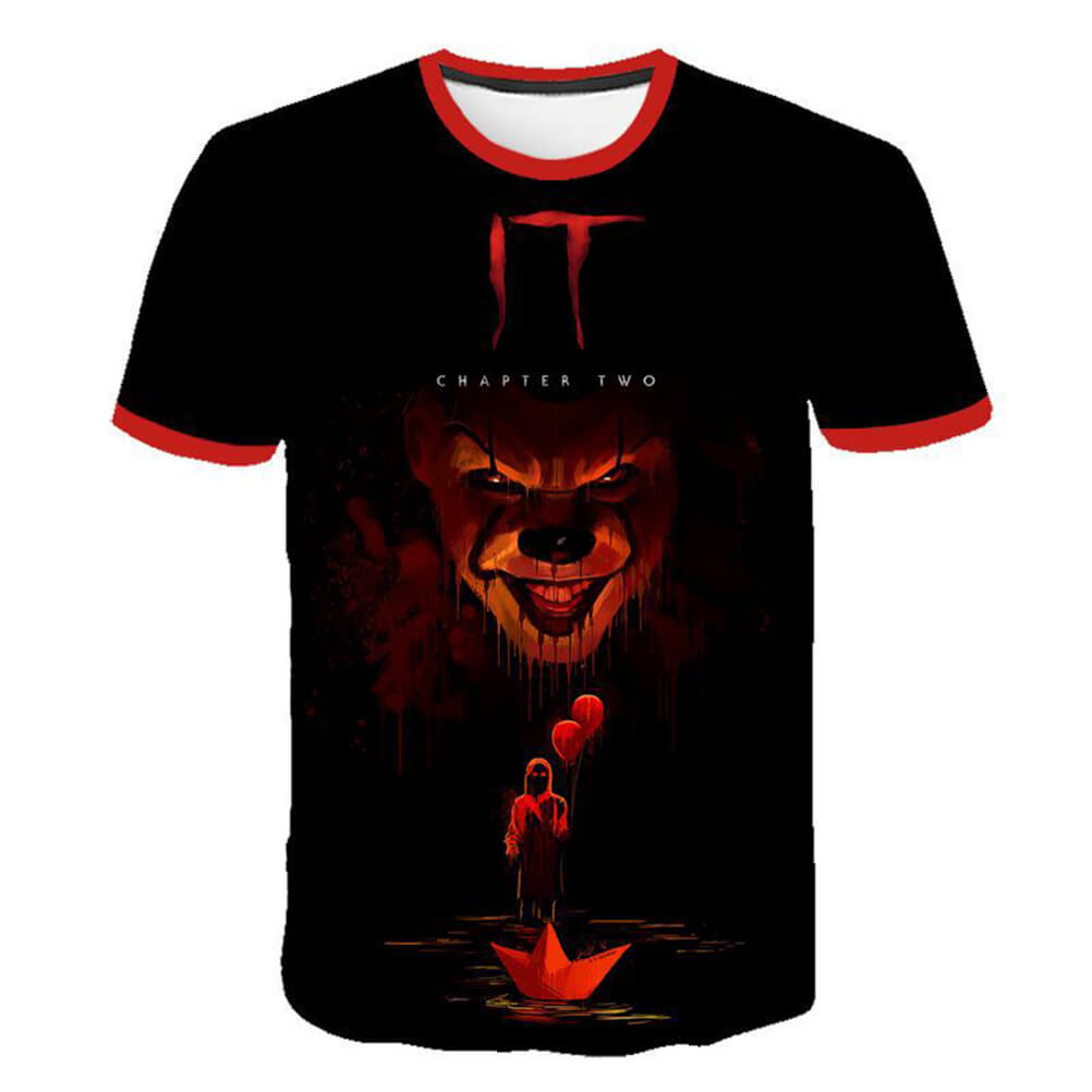 Pennywise Clown 3D Print Graphic T-Shirt OTKS303 - otakumadness
