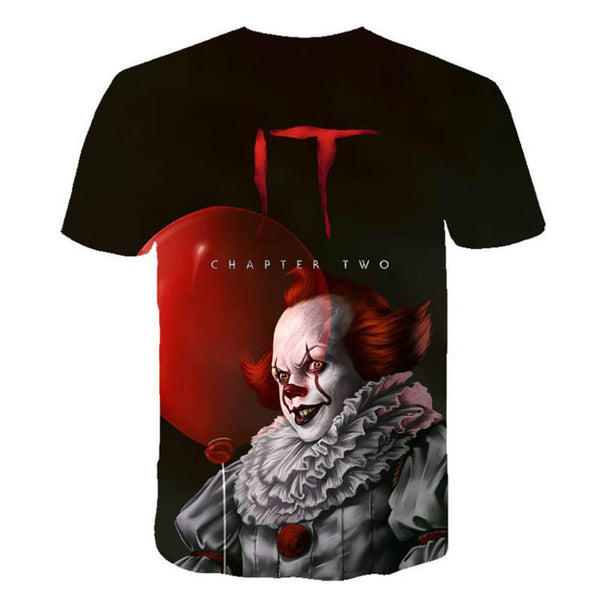 Pennywise Clown 3D Print Graphic T-Shirt OTKS307 - otakumadness