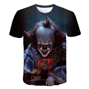 Pennywise Clown 3D Print Graphic T-Shirt OTKS308 - otakumadness