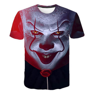 Pennywise Clown 3D Print Graphic T-Shirt OTKS304 - otakumadness
