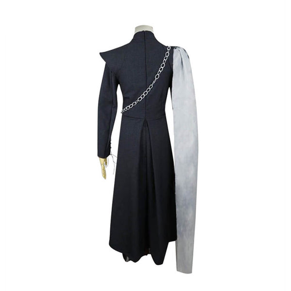 Game of Thrones Queen Daenerys Targaryen Cosplay Costume Halloween Outfit OTKS025 - otakumadness