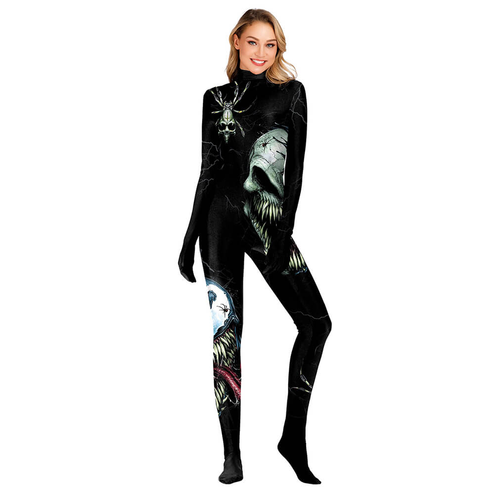 Halloween Skeleton Cosplay Costume - otakumadness
